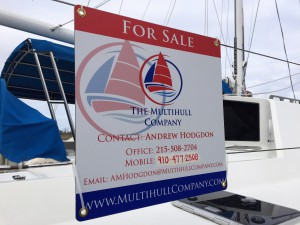 Andrew, our broker, knows Privileges & has captained a variety of cats over many ocean miles.